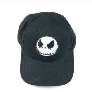 Jack Skellington Black Embroidered Hat Nightmare